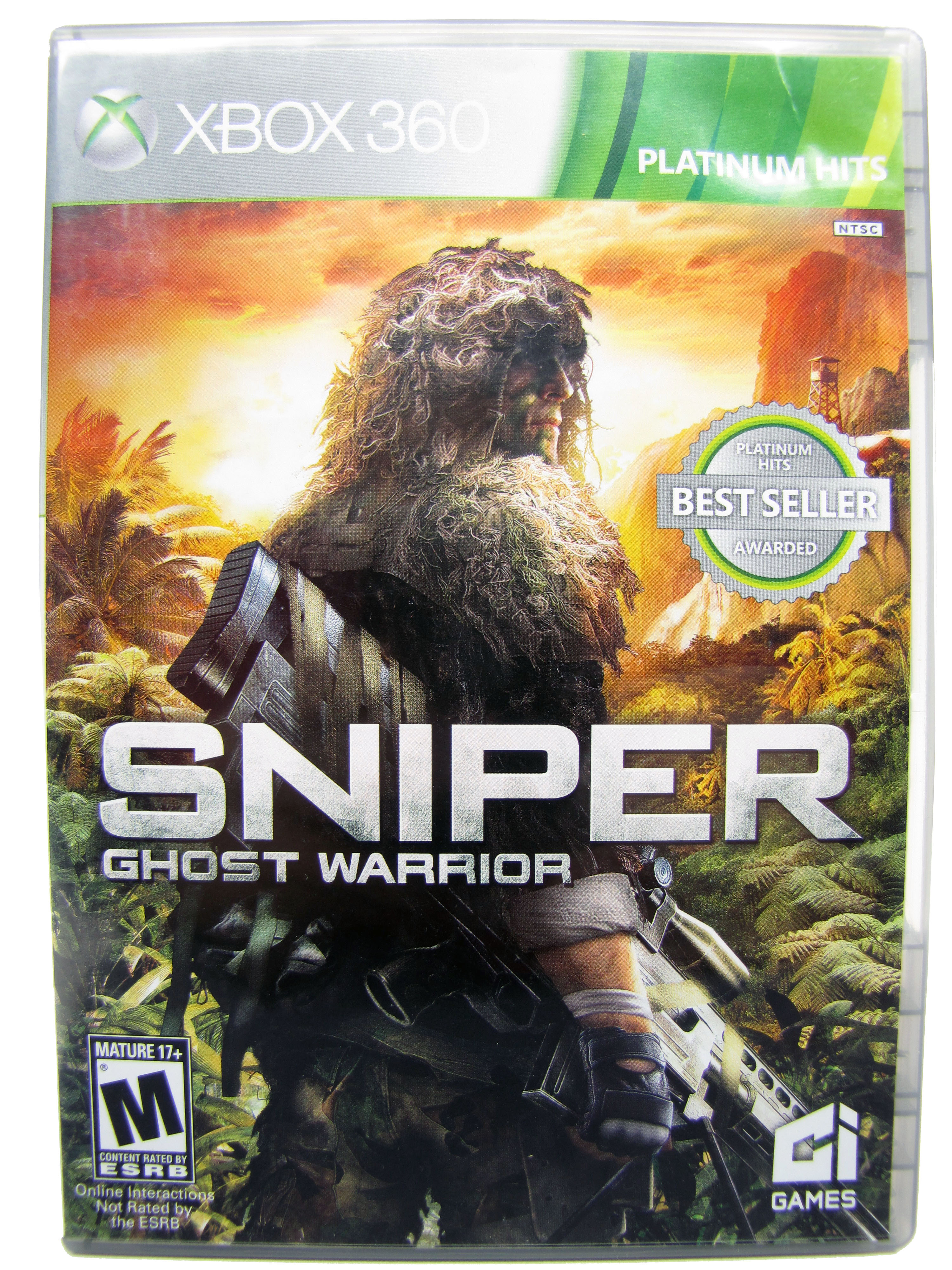 XBOX 360 Sniper: Ghost Warrior 2 Complete - 2013
